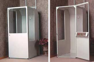 Minivator elevators dockmasters for Small elevators for homes